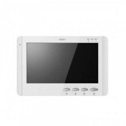 Видеодомофон  ARNY AVD-709M (White)