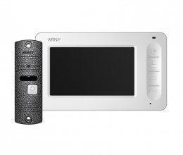 Комплект домофона  ARNY AVD-7005 Белый \ Серый