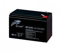 Ritar AGM RT1270 12V 7.0Ah Black