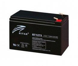 Ritar AGM RT1275 12V 7.5Ah Black