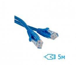 CNM Secure UTP 5м Cat.5e литой синий RJ45, CCA