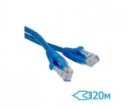 CNM SecureUTP 20м Cat.5e литой синий RJ45, CCA