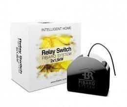 Двухканальное встраиваемое реле Fibaro Relay Switch FIBEFGS-222 (FIB_FGS-221)