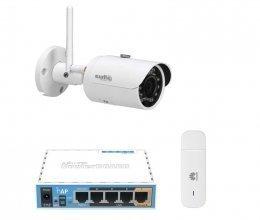 3G комплект с IP камерой DH-IPC-HFW1120S-W
