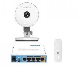 3G комплект с IP камерой Foscam C1 Lite