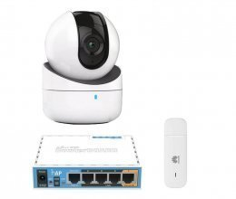3G комплект с IP камерой Hikvision DS-2CV2Q01FD-IW