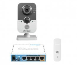 3G комплект с IP камерой Hikvision DS-2CD2420F-IW