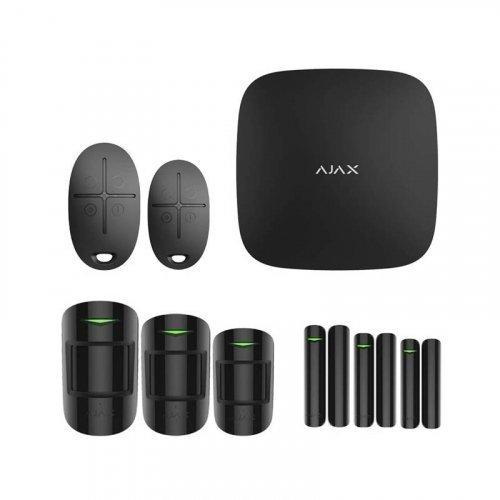 Комплект сигнализации Ajax для дома №4 чёрный