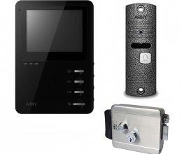 Комплект домофона  ARNY AVD-410M и ARNY AVP-05 NEW + Atis Lock SS