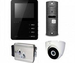 Комплект домофона ARNY AVD-410M и ARNY AVP-05 NEW + Atis Lock SS + камера