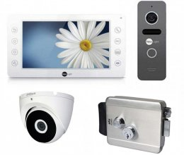 Комплект домофона  NeoLight Kappa+ и NeoLight Solo + Atis Lock SS + камера