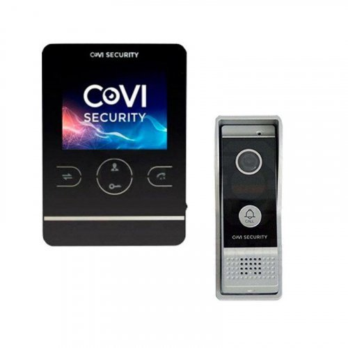 Комплект домофона  CoVi Security HD-02M-B и CoVi Security CV-42