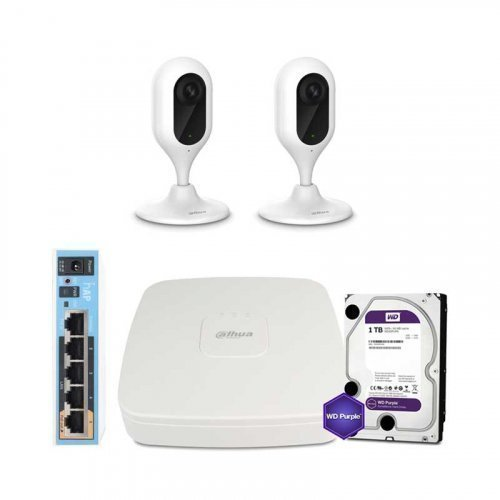 Dahua WiFi-1M-2IN-HOME-C12P-HDD