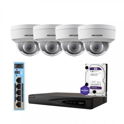 Hikvision WiFi-2M-4OUT-HOME-2CD2121G0-IWS-HDD