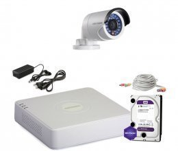 Hikvision TURBOHD-1M-1OUT-HOME-FULL