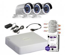 Hikvision TURBOHD-1M-3OUT-HOME-FULL