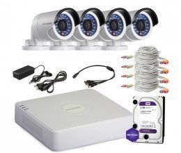Hikvision TURBOHD-1M-4OUT-HOME-FULL