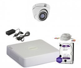 Hikvision TURBOHD-1M-1OUT-HOME-A-FULL