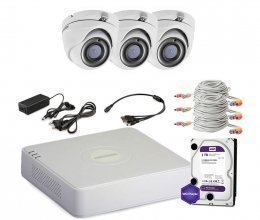 Hikvision TURBOHD-1M-3OUT-HOME-A-FULL