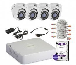 Hikvision TURBOHD-2M-4OUT-HOME-A-FULL
