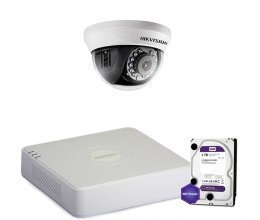 Hikvision TURBOHD-2M-1IN-HOME-HDD-LITE