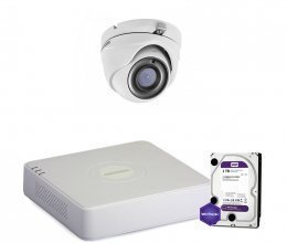 Hikvision TURBOHD-2M-1OUT-HOME-HDD-A-LITE
