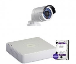 Hikvision TURBOHD-2M-1OUT-HOME-HDD-LITE