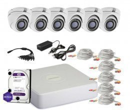 Hikvision TURBOHD-2M-6OUT-HOME-A-FULL