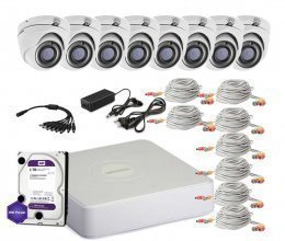 Hikvision TURBOHD-2M-8OUT-HOME-A-FULL