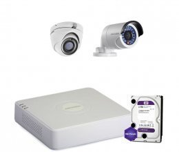 Hikvision TURBOHD-1M-2COMBI-HOME-HDD-LITE