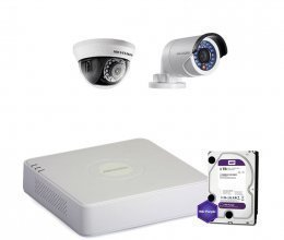 Hikvision TURBOHD-2M-2COMBI-HOME-HDD-A-LITE