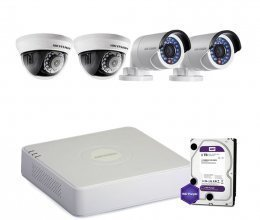 Hikvision TURBOHD-2M-4COMBI-HOME-HDD-A-LITE