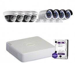 Hikvision TURBOHD-2M-8COMBI-HOME-HDD-A-LITE