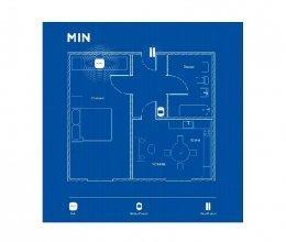 Беспроводная охранная сигнализация для квартиры MIN