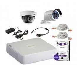 Hikvision TURBOHD-2M-2COMBI-HOME-A-FULL