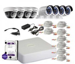 Hikvision TURBOHD-2M-8COMBI-HOME-A-FULL