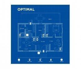 Беспроводная охранная сигнализация для частного дома OPTIMAL