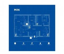 Беспроводная охранная сигнализация для частного дома MIN
