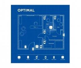 Беспроводная охранная сигнализация для офиса OPTIMAL