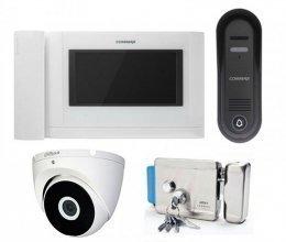 Commax CDV-704MHA и Commax DRC-4CPN3 + камера + ARNY Rim SS