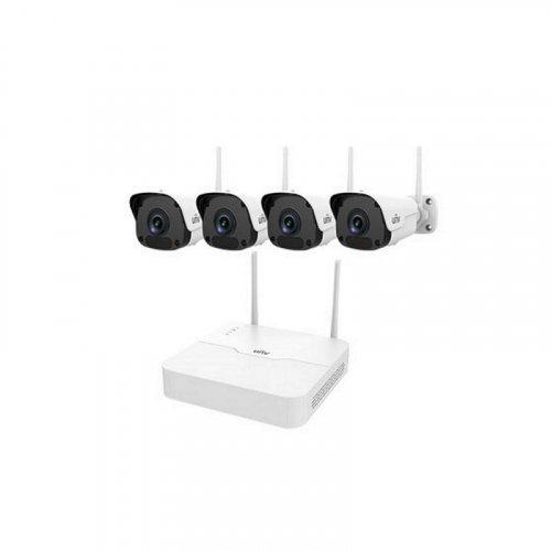 IP комплект видеонаблюдения Uniview KIT/NVR301-04LB-W/4*2122SR3-F40W-D