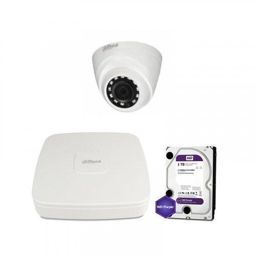 HDCVI комплект видеонаблюдения Dahua CVI-2M-1DOME-Lite