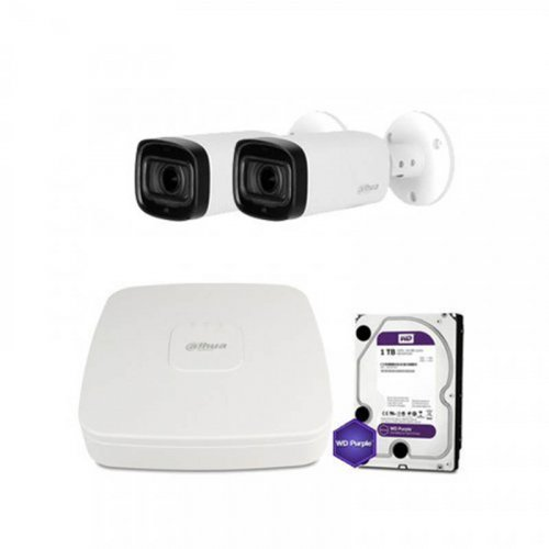 HDCVI комплект видеонаблюдения Dahua CVI-4M-2OUT-Pro