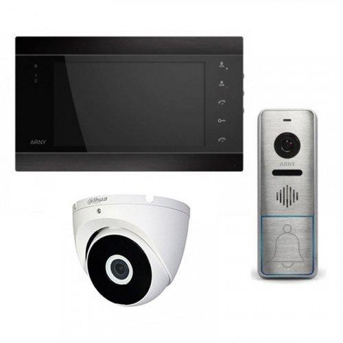 Комплект домофона  ARNY AVD-720M Wi-Fi и ARNY AVP-NG420 1MPX + камера