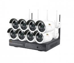 Outdoor Wireless Kit 1MP 8xIP v1.0