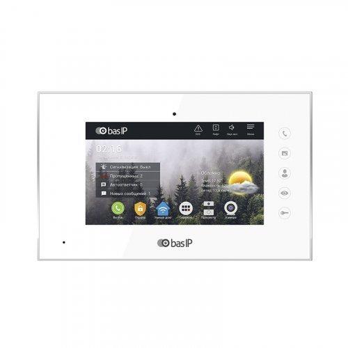 Видеодомофон  BAS-IP AQ-07L White