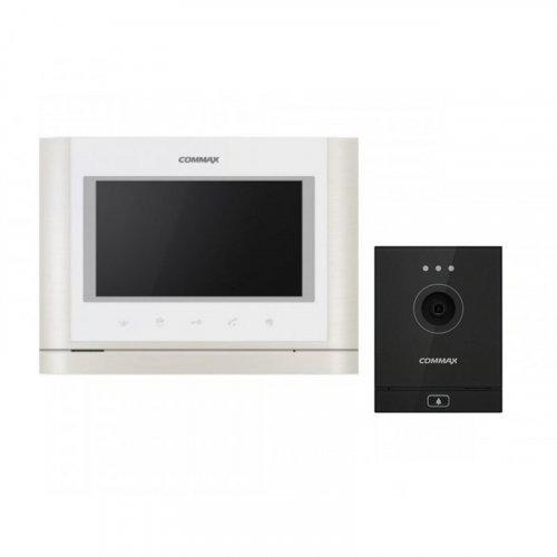 Комплект домофона  Commax CMV-70MX и Commax DRC-41M Dark silver