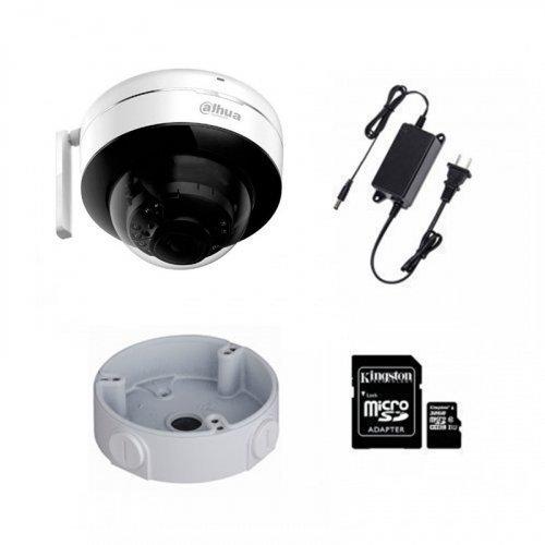 IP комплект видеонаблюдения для парадного с камерой Dahua D26P + монтаж