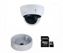 IP комплект видеонаблюдения для парадного с камерой DH-IPC-HDBW2230EP-S-S2 (3.6 мм)