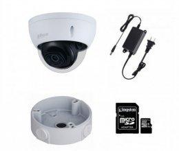 IP комплект видеонаблюдения для парадного с камерой Dahua DH-IPC-HDBW2230EP-S-S2 (3.6 мм) + монтаж